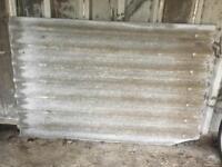 Corrugated roofing sheets NO asbestos
