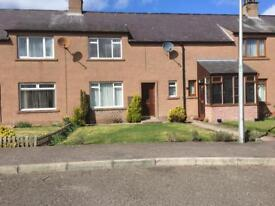 Two bedroom house in Forfar with front and back garden in quiet cut-de-sac in Forfar
