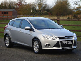 2013 FORD FOCUS 1.6 TDCI ZETEC **ONE OWNER & FULL SERVICE HISTORY**