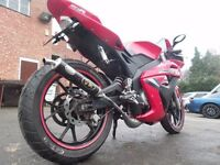 2010 Motorhispania RX50 R Racing Lerner Legal 50cc Moped Like Derbi GPR Aprilia RS 50 Delivery Poss