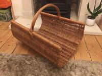 New large log basket
