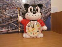 Novelty alarm clock