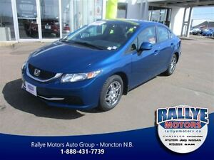 2013 Honda Civic LX Auto, Air, Alloys, Waranty