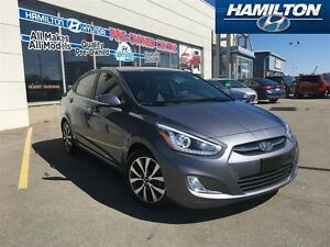 2017 Hyundai Accent | GLS | ONE OWNER | ROOF | ALLOYS| HEATED SE