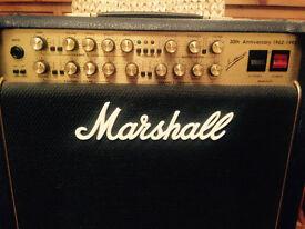 Marshall 6101 30th Anniversary 1x12 combo (Blue)
