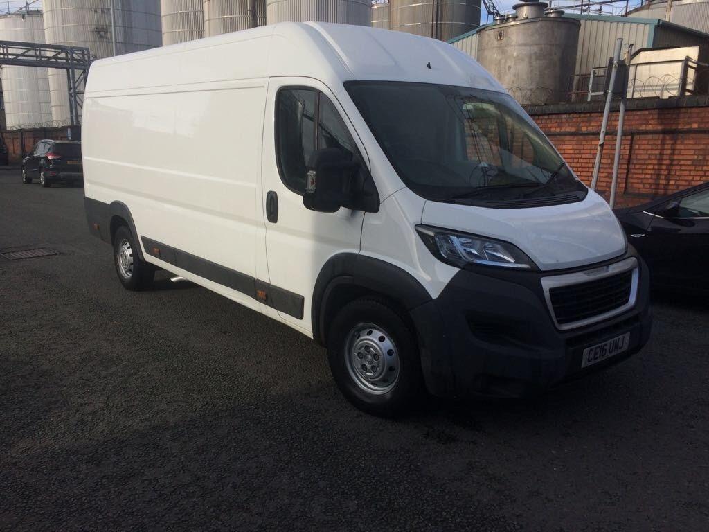 32b14f04a8 2016 16reg Peugeot Boxer Enterprise L4 H2 2.2 Hdi extra capacity Maxi No VAT