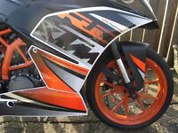 2014 KTM RC390 Only 6000mls 2 owners part exchange & deliver possible