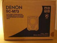 DENON - MINT CONDITION - CD, Amp , Speakers