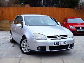 2006 VW GOLF 2.0 GT TDI 140 5DR *** 2 OWNERS, FSH, WARRANTY*** ***** match 1.9 1.6 gtd sport gti a3