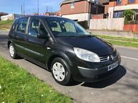 2004 Renault Scenic 1.5 diesel 12 months MOT (no advisories) 2 new tyres and a new clutch