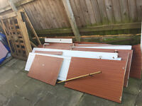 FREE Fire Wood / Dismantled Wardrobe & Wooden Pallet - FREE BARGAIN!!!