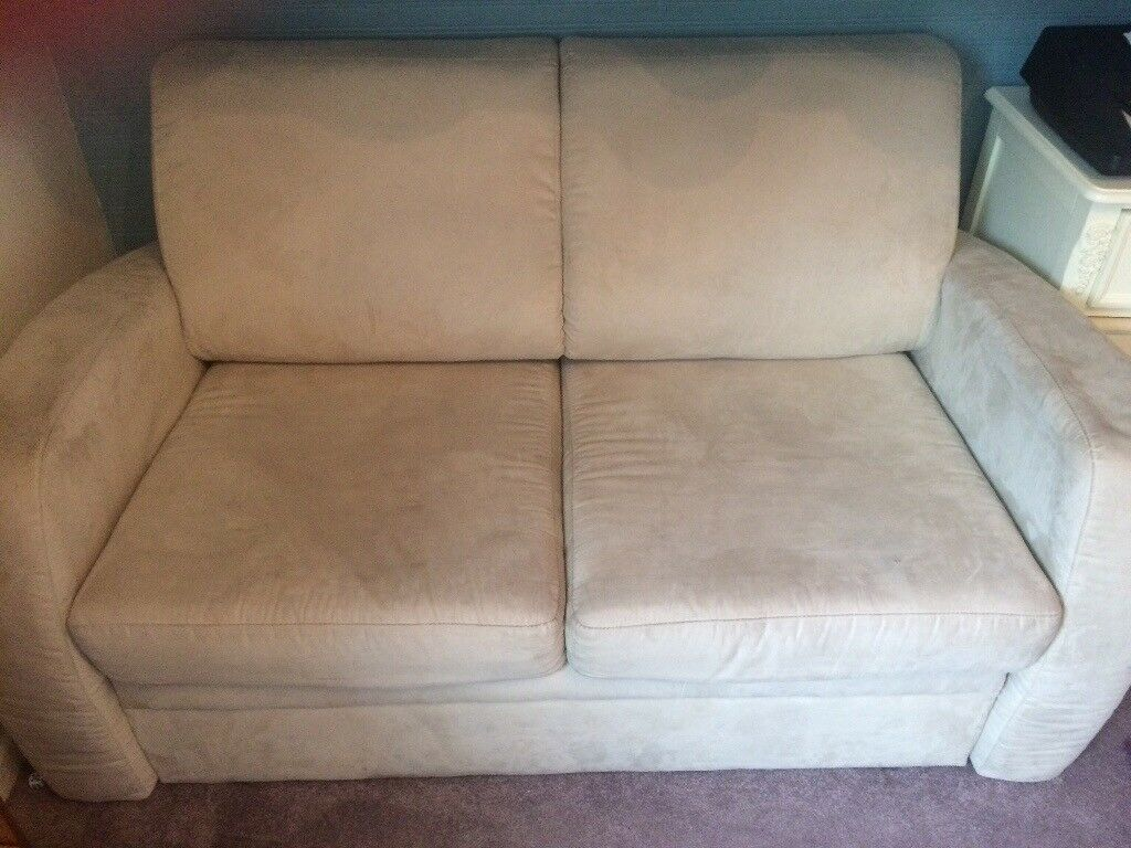 Sofa bed with storage good condition