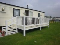6 Berth 2 bedroom Luxury 12' caravan on Holiday Resort Unity, Brean Sands, Somerset