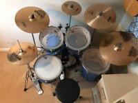 Drum Kit Yamaha As New
