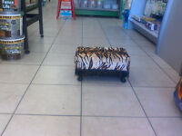 Foot Stool Animal Print cushion
