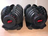 BOWFLEX 1090i Pair (up to 41kg each)