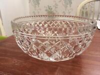Glass Fruit Bowl Vintage