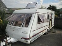 Compass Encore 1999 4 berth with end shut off wash room and changing area