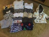 6-9 months baby boy bundle £9