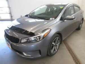 2017 Kia Forte EX+ BACK-UP CAM! ALLOYS! LEATHER!