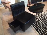 Nail bar stool and table