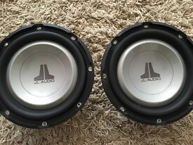JL Audio Subs in tuned box with amp!