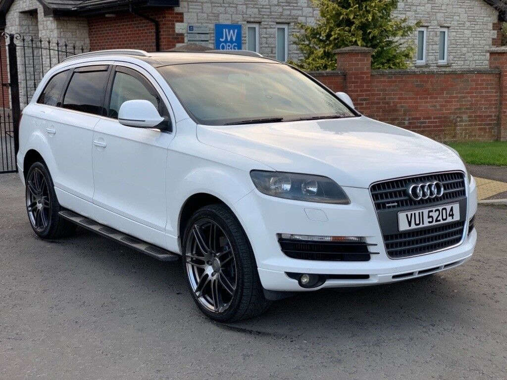 White 2007 Audi Q7 3 0 TDI QUATTRO SE for sale, may swap or P/X   in  Portadown, County Armagh   Gumtree