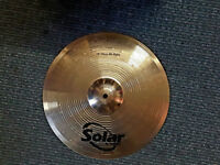 "Solar 14"" High Hat cymbals, Drum Kits, Drums, Hardware, Drum Cases,Crash Cymbals"