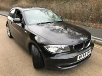 2009 BMW 118D SE AUTO GEARBOX BLACK EX.CONDITION.