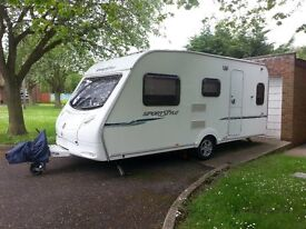 Sprite Major 5 2007 (Sports-Style) with Kampa air ace 400 awning