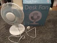 9 inch John Lewis Desk Fan
