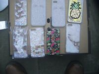 Job Lot I Phone 5 and 6 fancy covers 22 in total all new in wrappers retail at £2.99 and £3.99 each
