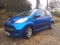 Peugeot 107 clean reliable car £2750