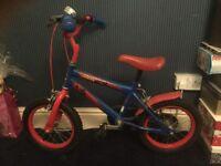 Children's Spider-Man bike