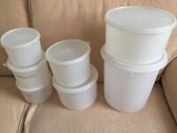 Vintage Tupperware Containers Various Sizes