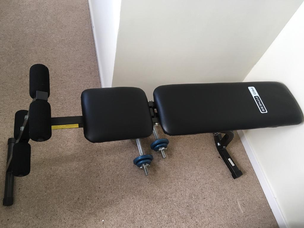 Pro Fitness Exercise Bench