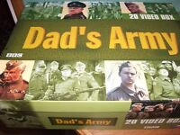 20 DADS ARMY VHS VIDEO BOX SET ARTHUR LOWE
