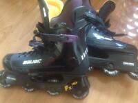 Bauer inline skates size 10
