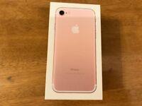 I phone 7 rose gold