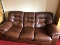 Leather sofa ,Arthur Llewellyn Jenkins