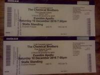2 x Chemical Brothers tickets Saturday 10 December