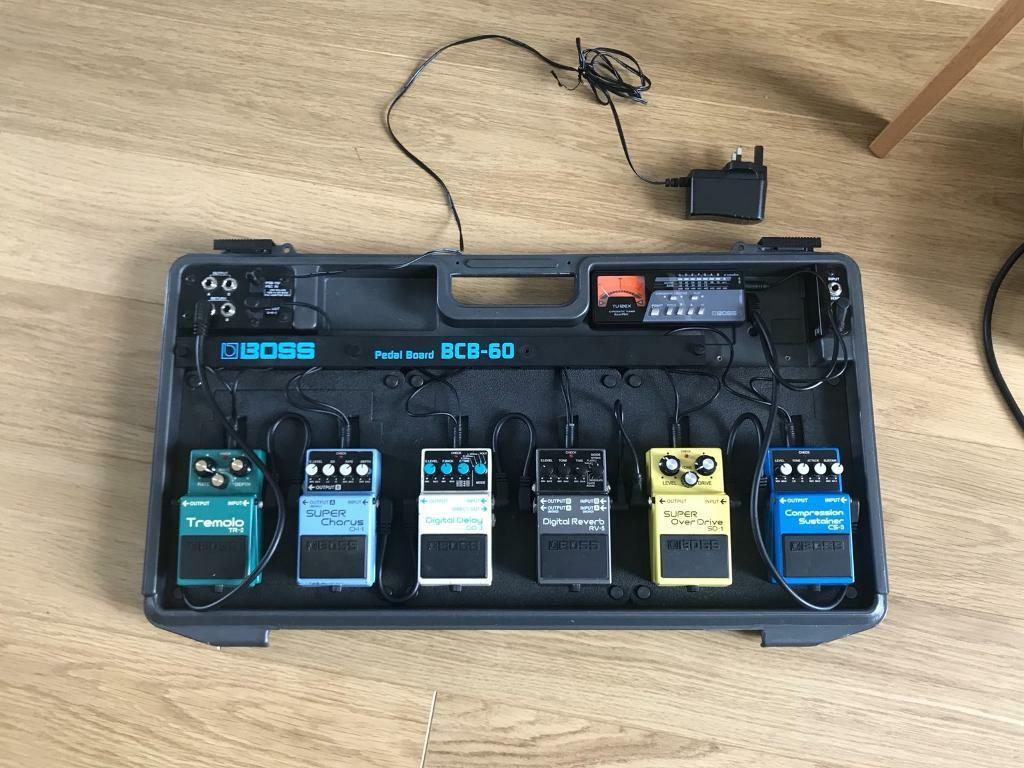 boss bcb 60 pedal board and effects pedals in llanelli carmarthenshire gumtree. Black Bedroom Furniture Sets. Home Design Ideas