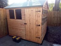 Factory New Featheredge 8x6 Shed