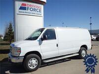 2013 Ford E-250 Cargo Van, Flex Fuel Capable, 4.6L V8, RWD, HUGE