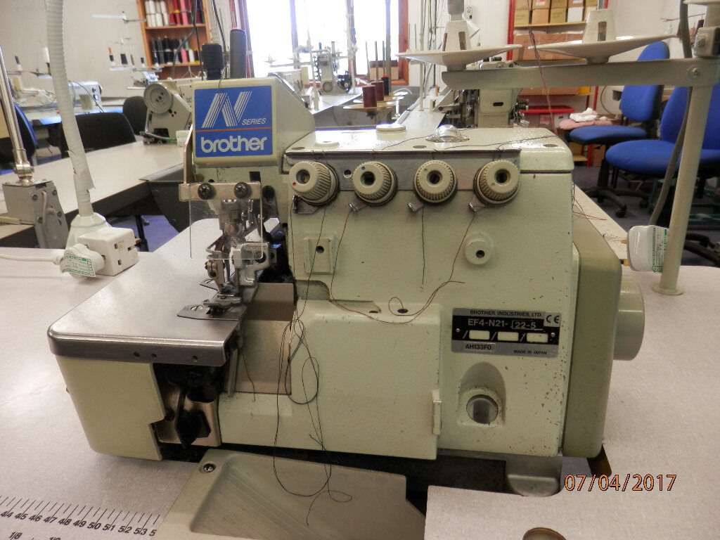 Brother N21 4 Thread, Twin Needle, Overlock Industrial Sewing Machine