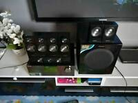 , Samsung AV RECEIVER WITH 7.1 SPICKER SYSTEM