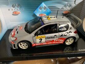 1:18 Diecast WRC Peugeot 205 Model Car
