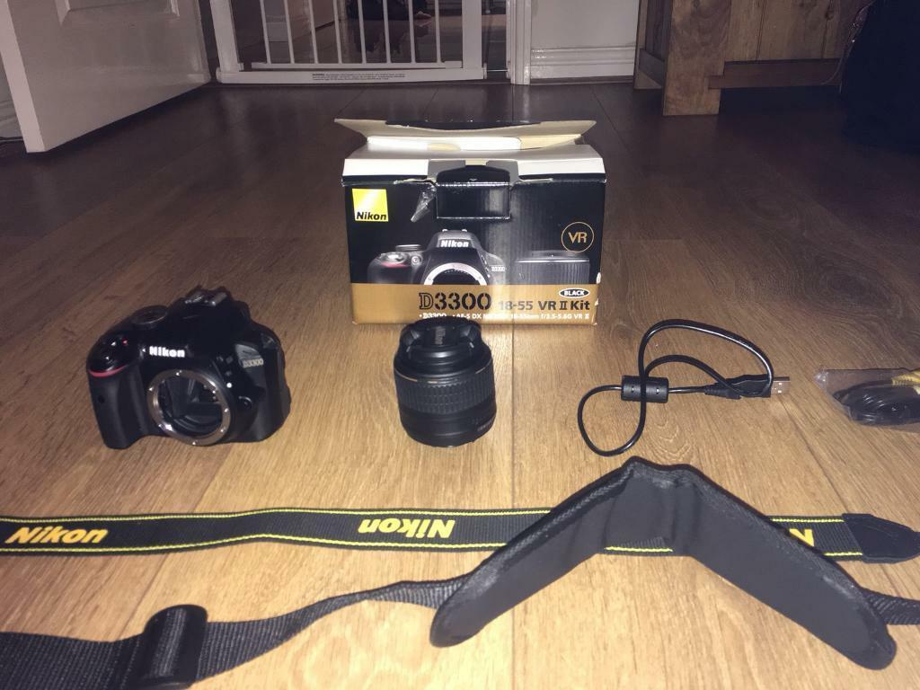 Nikon D3300 With 18 55 Vr Ii Lens Kit In Prescot Merseyside Gumtree 55mm