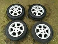 Peugeot 4 srid Alloy wheels (free fitting)