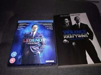 Blue ray disc rise and fall of the Krays plus book